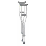 "Essential Medical W4001 Endurance Youth Crutches-4'6"" to 5'2"" Tall"