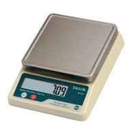 Taylor TE32FT Portion Control Scale-2 lb Capacity-2 lb/1 kg Capacity